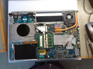 Sony VGN-FZ31M NVIDIA GeForce Graphics Repair