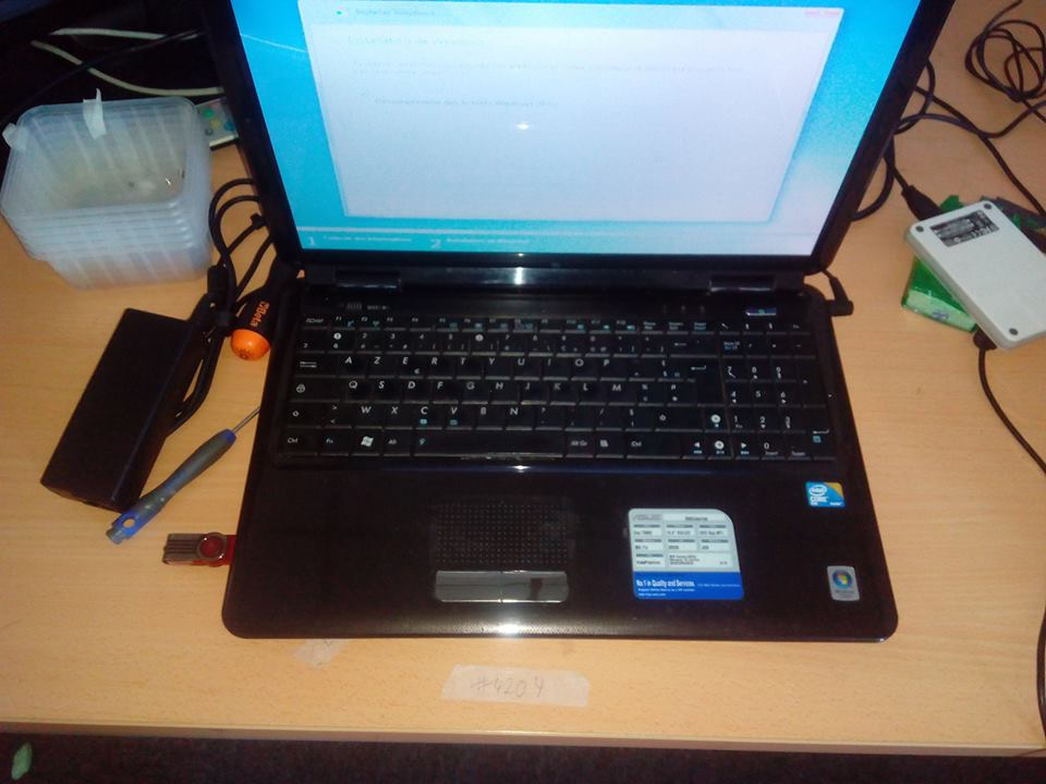 ASUS X5DIJ Repair | Reinstallation of Windows 7 | Creative IT London
